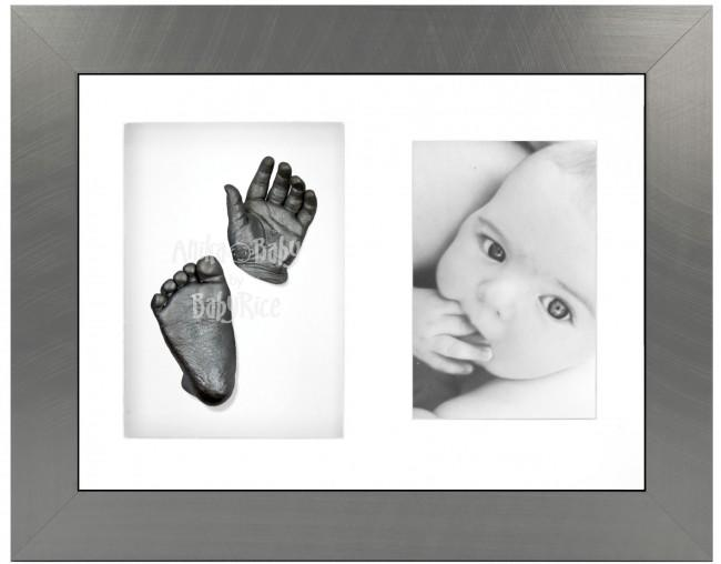 Baby Memories Keepsake Gift, 3D Handprint Footprints Kit