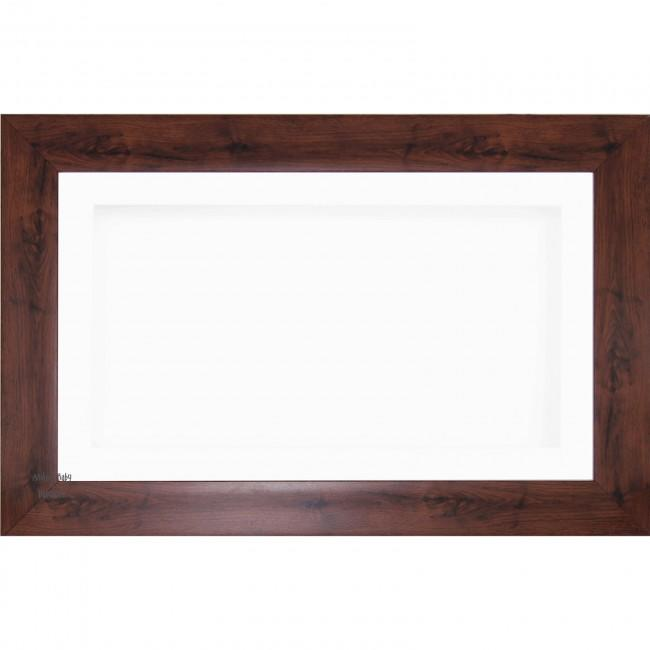 "15x9"" Wooden Shadow Box Deep Frame, Mahogany-Effect"