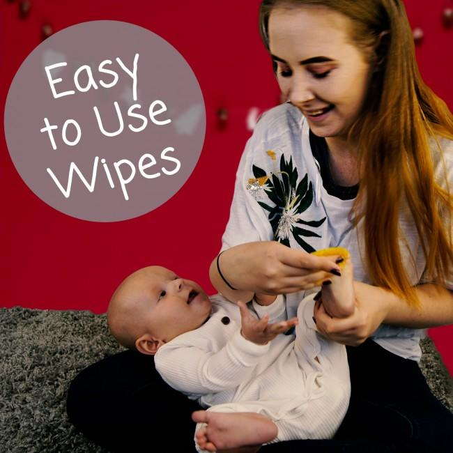 Wipe the inkless wipe over the hand or foot