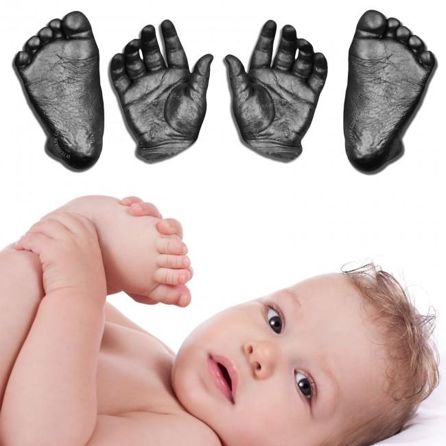 Baby Casting Kit wth Black Metallic Paint