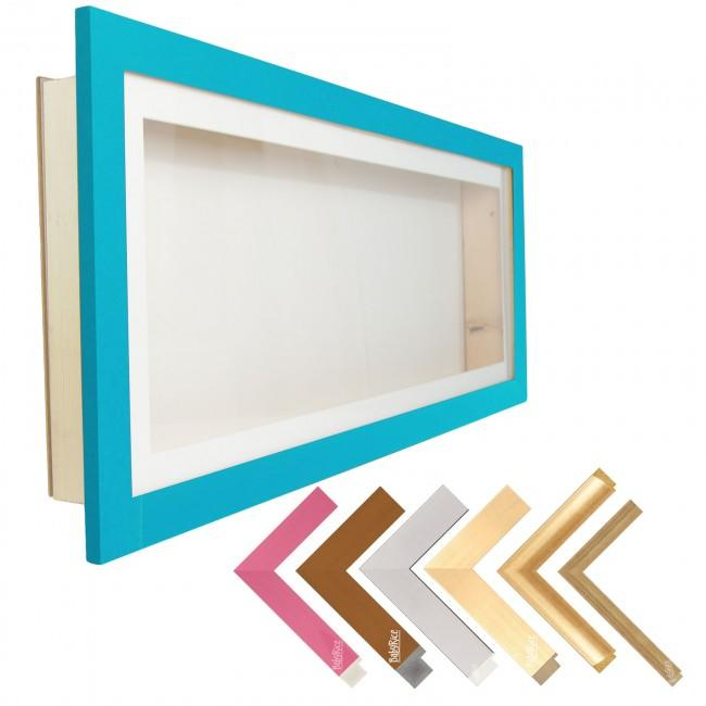 "35x13"" Deep Box Display Frame – Budget Acrylic Frames – Includes Mount"