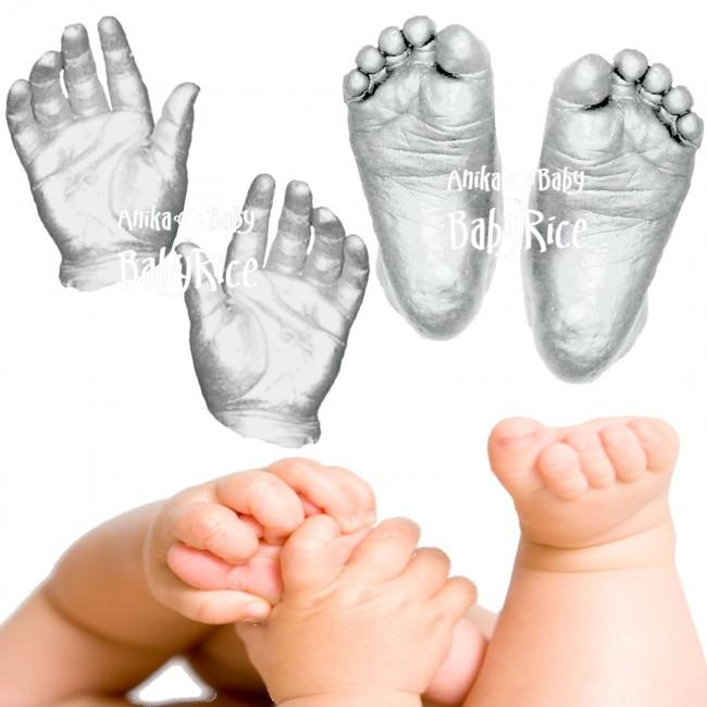 baby hands and feet casts