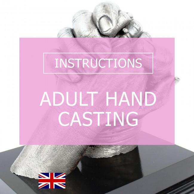 BabyRice Adult Hand Casting Kit Instructions