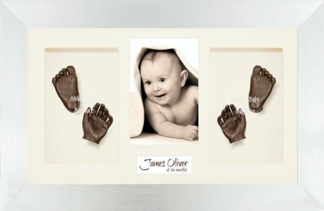 Unique New Baby Christening Gift, DIY 3D Hands & Foot Bronze Casting