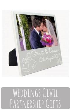 Wedding Civil Partnership Gifts