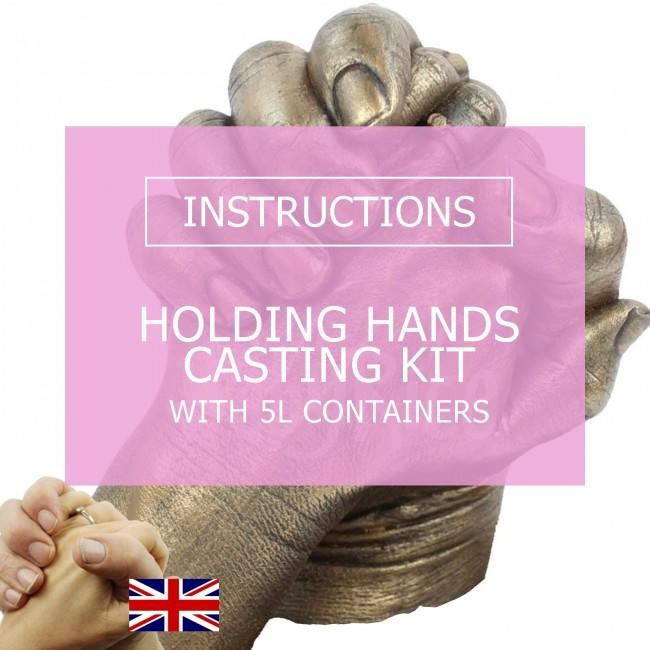 BabyRice Adult Hand Casting Kit (with 5L Containers) Instructions