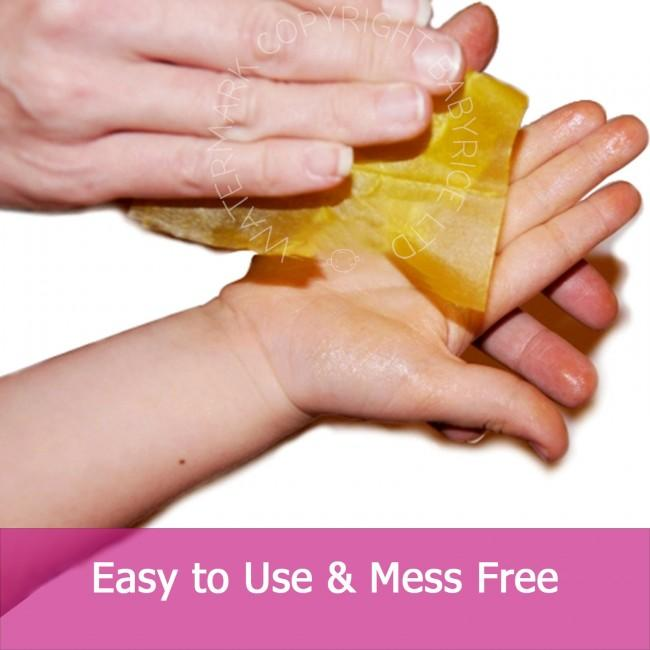 Easy to use and mess free inkless printing wipes