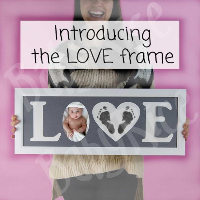 Large Love Frame 60cm long by 20cm high (acrylic front measurement)