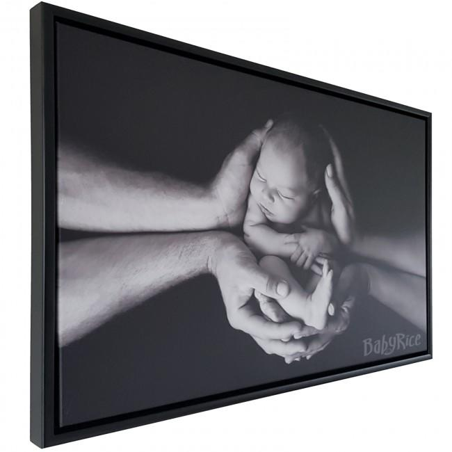 Black Tray Frame for Canvas 2cm deep