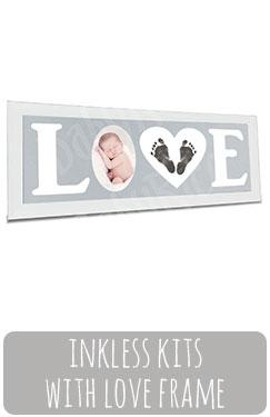 Baby Love Frame Hand Footprints Kit