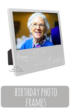 Birthday Age Photo Frames