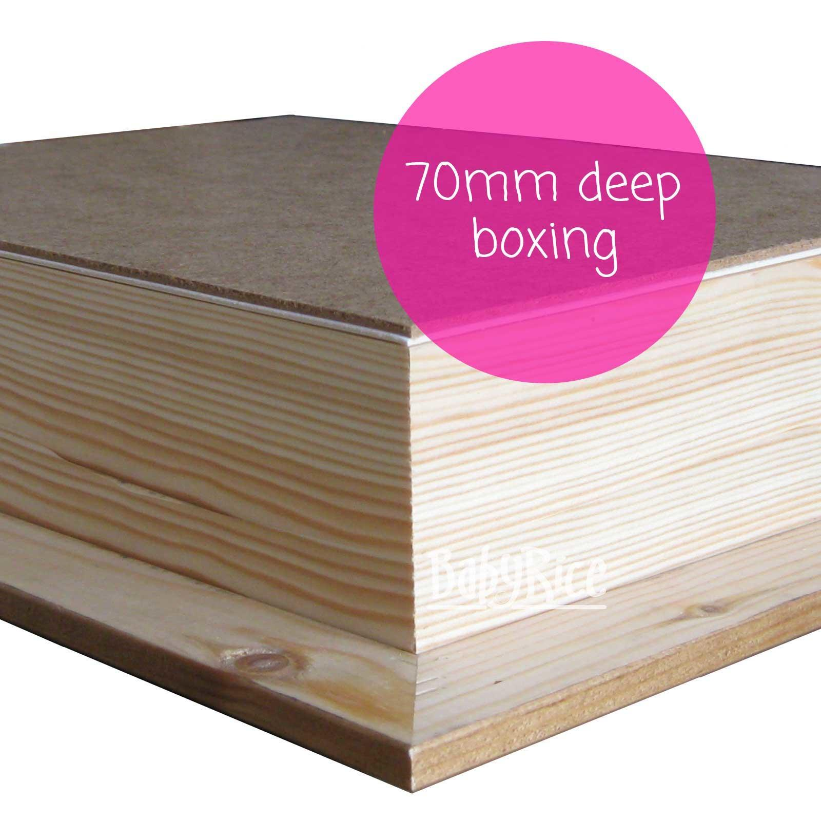 Example of rear pine box 70mm