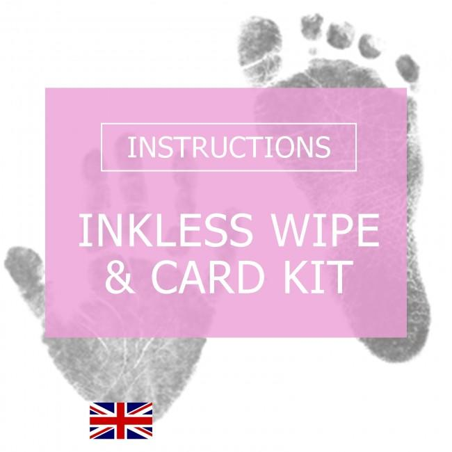 BabyRice Inkless Wipe & Card Instructions