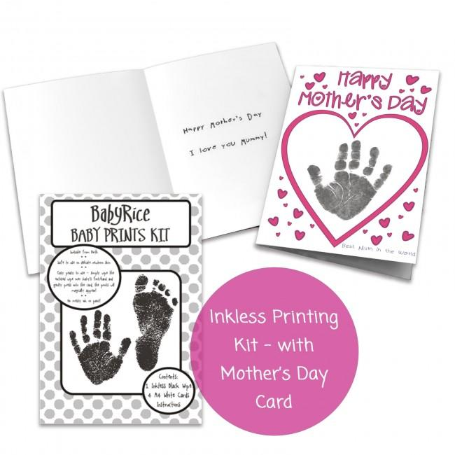 Do it yourself Mother's Day Card Making Kit from Baby