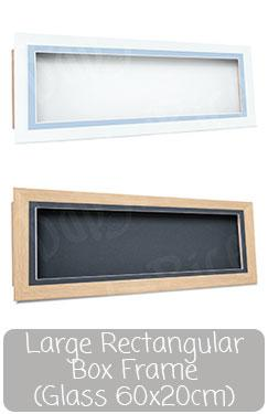 Long Deep Box Display Frame