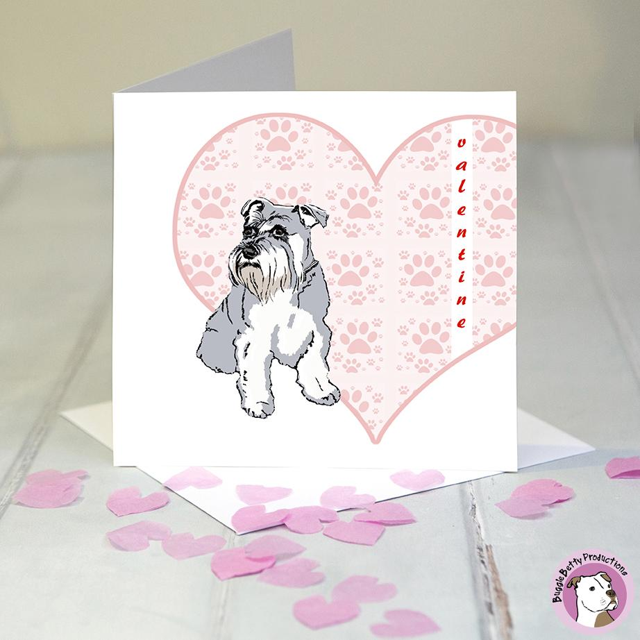 Dog Valentines Card