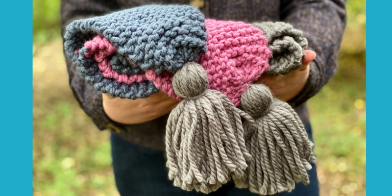 Beginner Knitting Kits and Patterns