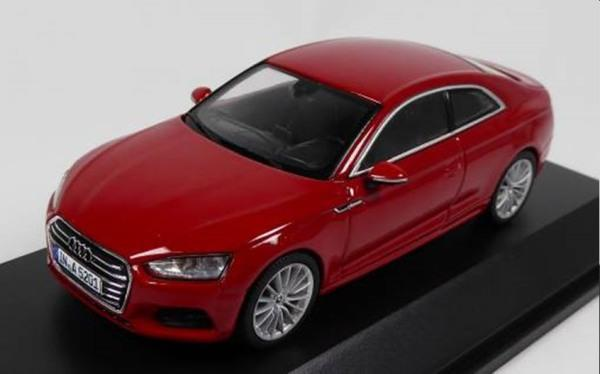 Audi A5 coupe ,tange red, 1:43  Spark, AUD5011605432
