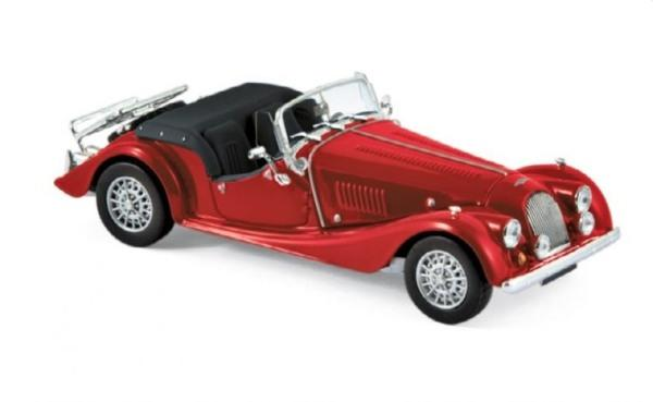 Morgan Plus 8 1980 in red 1:43 scale diecast model from Norev