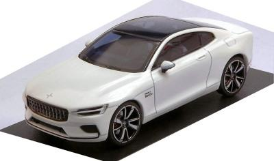 Polestar 1 2020 in snow white 1:43 scale diecast model car  from Norev