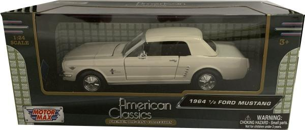 Ford Mustang Hard Top 1964 ? in beige 1:24 scale model from motor max