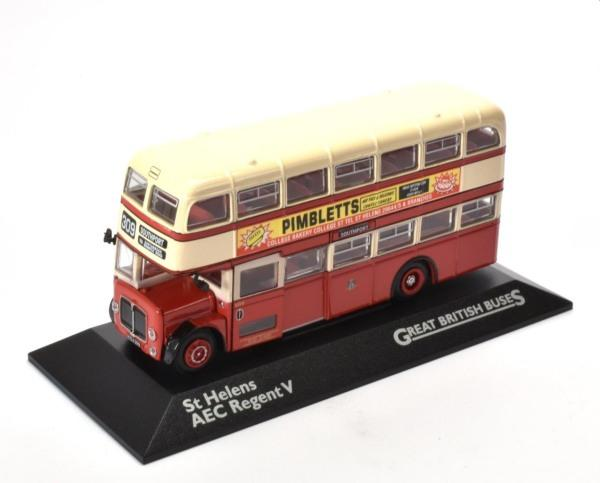 double and single decker buses