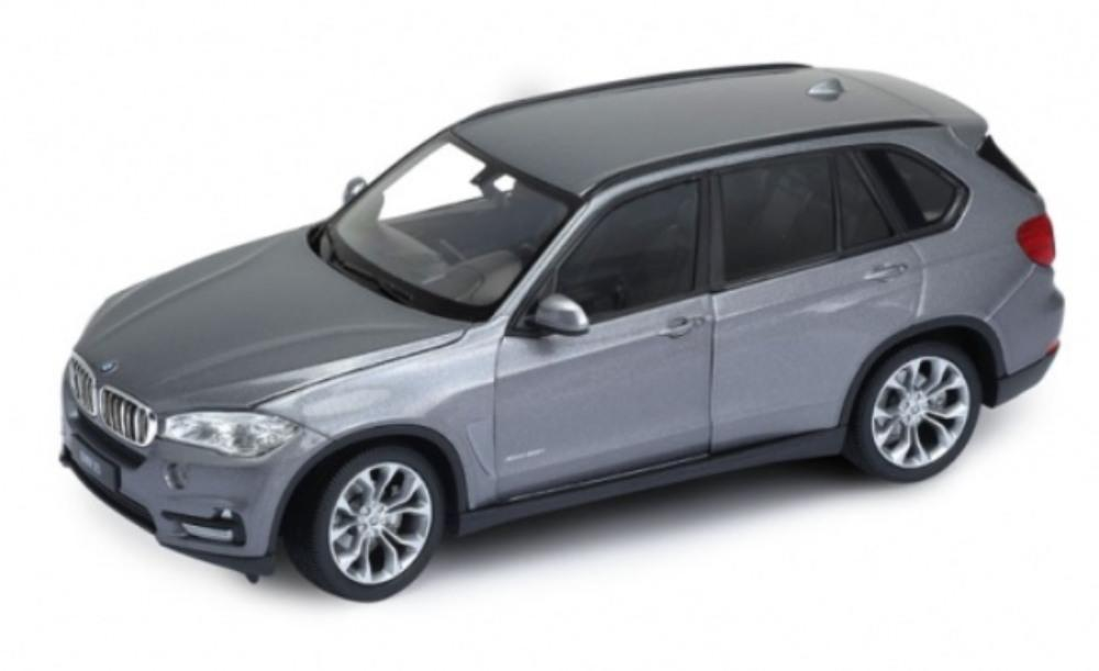 BMW X5 (F15) in metallic grey 1:24 scale model from Welly
