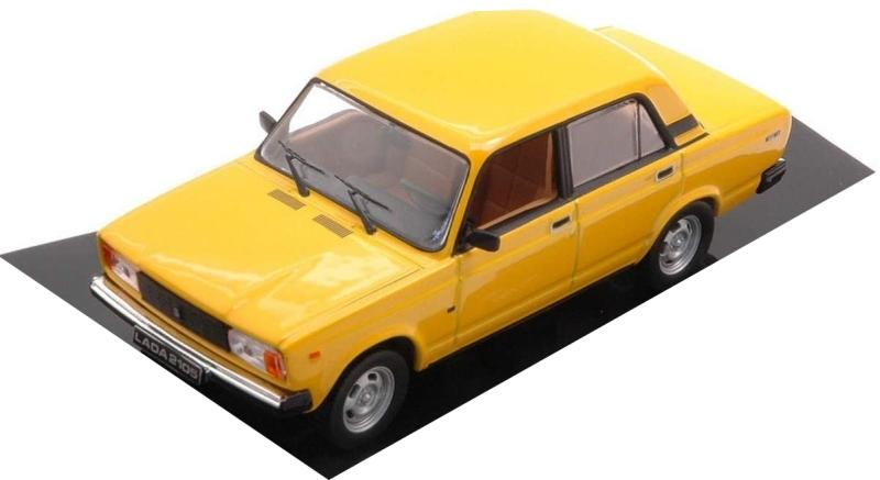 Lada 2105 1981 in yellow