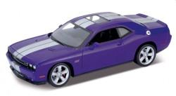 Dodge Challenger SRT2012 in purple 1:24 scale model from Welly