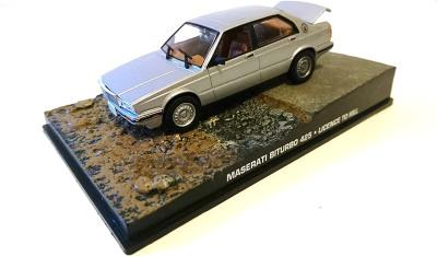 James Bond Maserati Biturbo 425 from a Licence to Kill 1:43 scale model