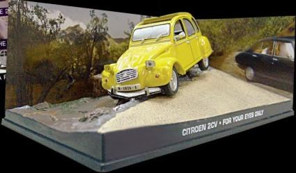 James Bond Citroen 2CV from For Your Eyes Only