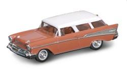 Chevrolet Nomad 1956 in buckskin brown 1:43 scale model from Road Signature