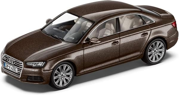 Audi A4,argus brown ,1:43 scale model , Spark car