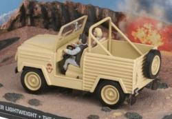 James Bond Land Rover 90 inch Lightweight from The Living Daylights 1:43 scale model