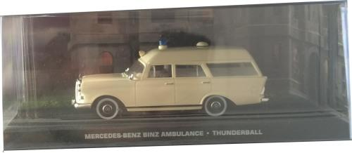 James Bond Mercedes Benz Binz Ambulance from Thunderball