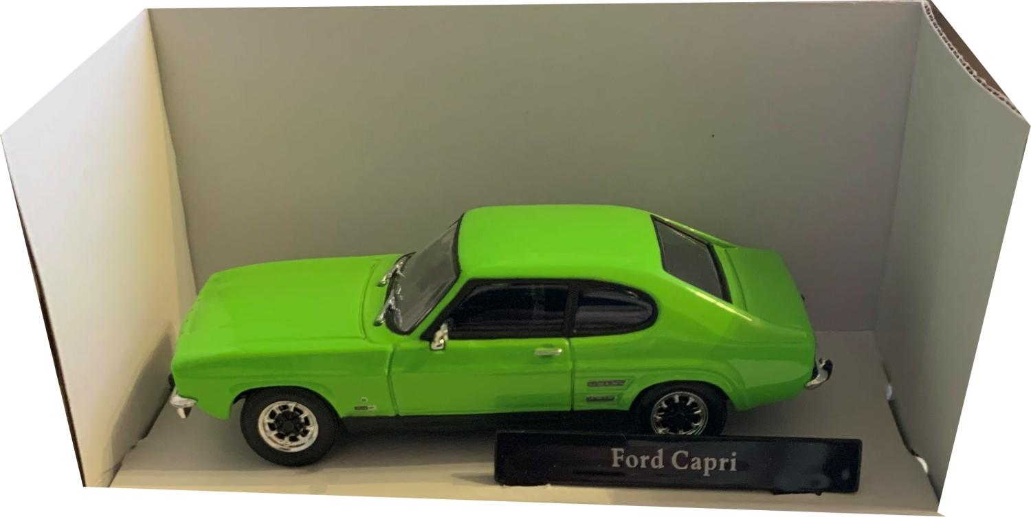 ford capri in lime glaze