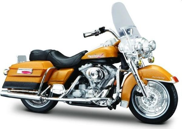 Harley-Davidson-1999-FLHR-Road-King-in-gold-1-18-scale-model-from-Maisto-6585.html