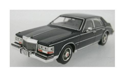 Scale diecast models of Cadillac cars