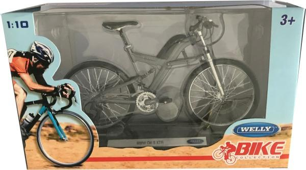 BMW Q6 S XTR bicycle in grey 1:10 scale model from Welly
