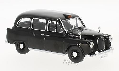 Austin FX4 London Taxi in black 1:43 scale model from whitebox
