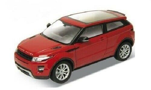 Range Rover Evoque in red 1:24-27 scale diecast model