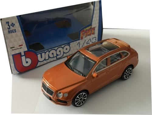 Bentley Bentayga model ,Bburago, streetfire
