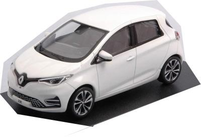 Renault ZOE, ZE50 , pearl white 1:43 scale, diecast model , Norev