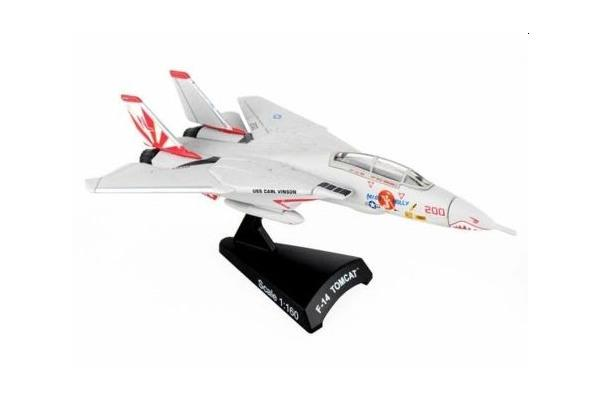 F-14 Tomcat 'Miss Molly' 1:160 scale model from Postage Stamp collection