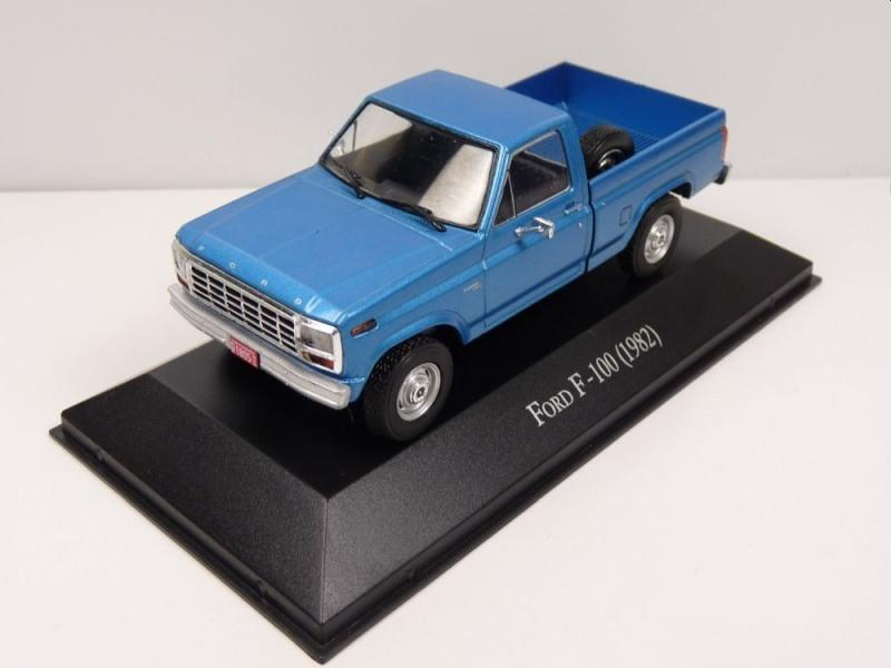 Ford pickups in 1:43 scale