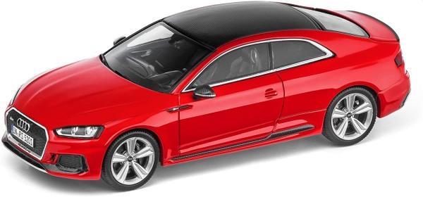 Audi RS 5, audi Coupe, misano red ,spark model car
