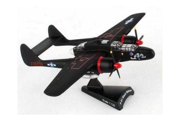 P-61 Black Widow 'Lady in the Dark' 1:120 scale model from Postage Stamp