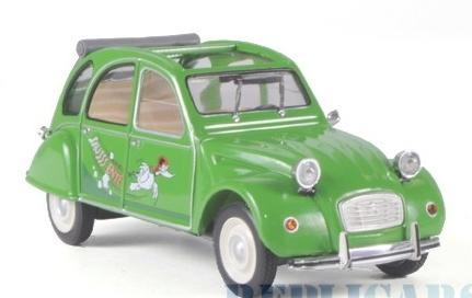 Citroen 2CV, Sausss Ente , Whitebox