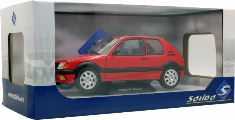 Peugeot 205 GTI, 1:18 scale, diecast  car model, Solido