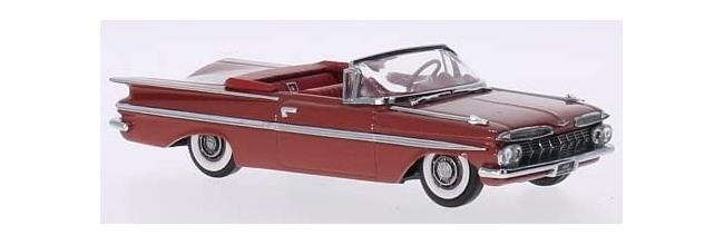 Chevrolet Impala 1959 in cameo coral, 1:43 scale diecast model from Vitesse, V36231